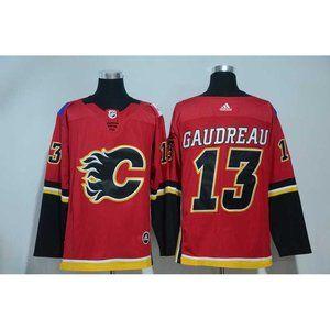 Calgary Flames Johnny Gaudreau Jersey (2)